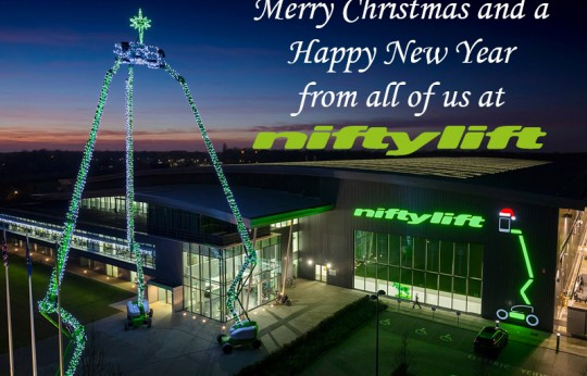 Merry Christmas from Niftylift 2017
