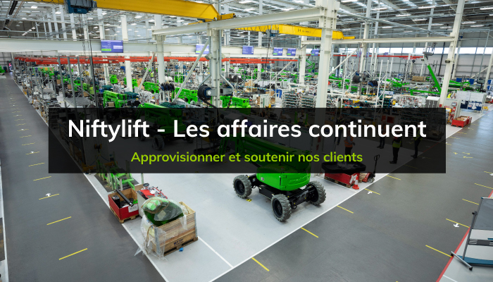 Niftylift - Les affaires continuent