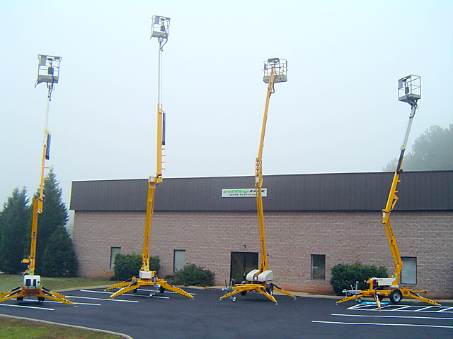 Niftylift Inc. establishes its service and spares facility in Greer, South Carolina