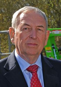 Roger Bowden, Chairman, Niftylift Ltd