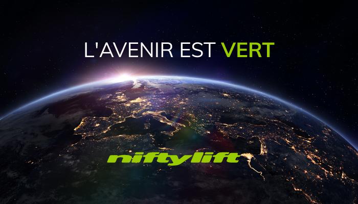 L'avenir est vert avec Niftylift