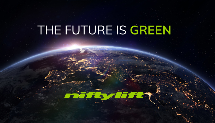 The Future is Green with Niftylift
