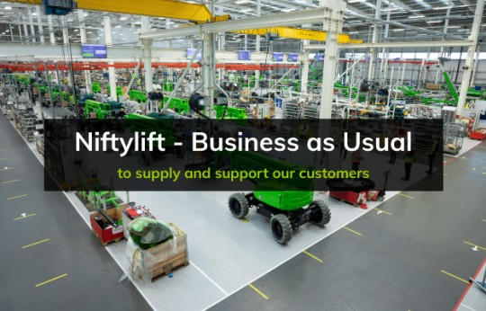 Niftylift - Business as Usual