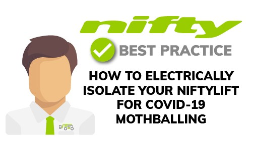 Niftylift Electrical Isolation - Best Practice