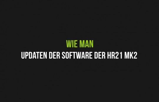 Updaten der Software der HR21 MK2