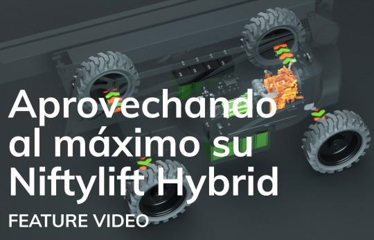Aprovechando al máximo su Niftylift Hybrid