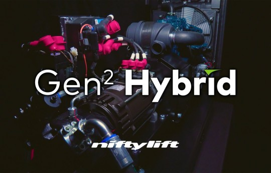Niftylift Introduces Gen2 Hybrid