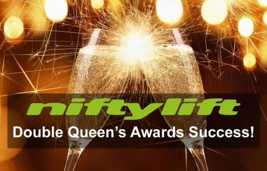 Double Queen's Award Success for Niftylift