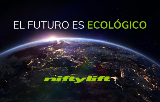 Niftylift introduce su gama All-Electric