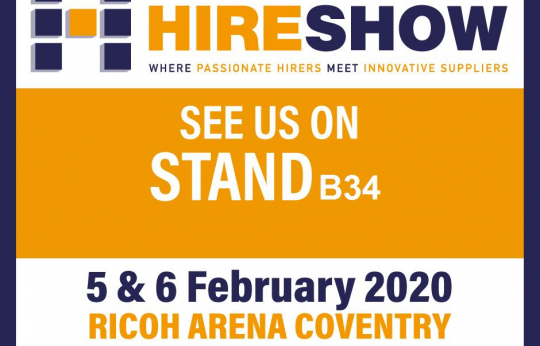 Niftylift at Executive Hire Show 2020