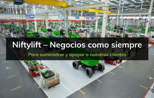 Niftylift - Negocios como siempre