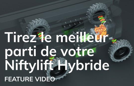Tirez le meilleur parti de votre Niftylift Hybride