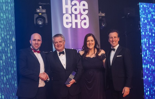Two Wins for Niftylift at HAE Awards