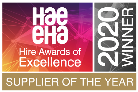 Niftylift Wins HAE Supplier of the Year 2020