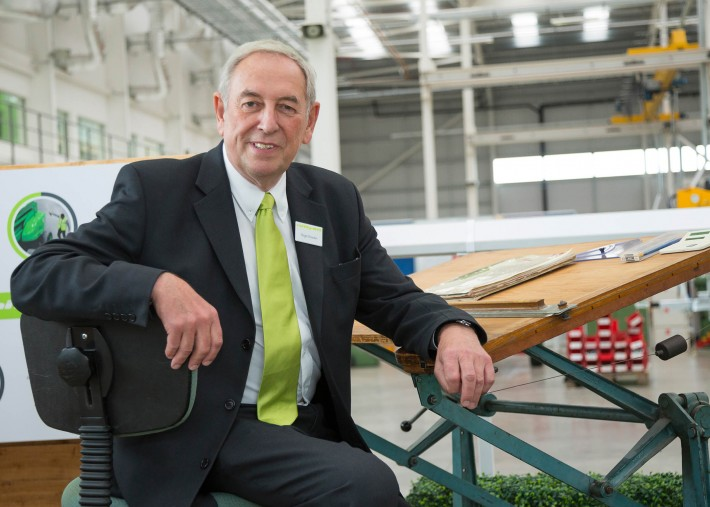 Roger Bowden, Niftylift Chairman and Founder