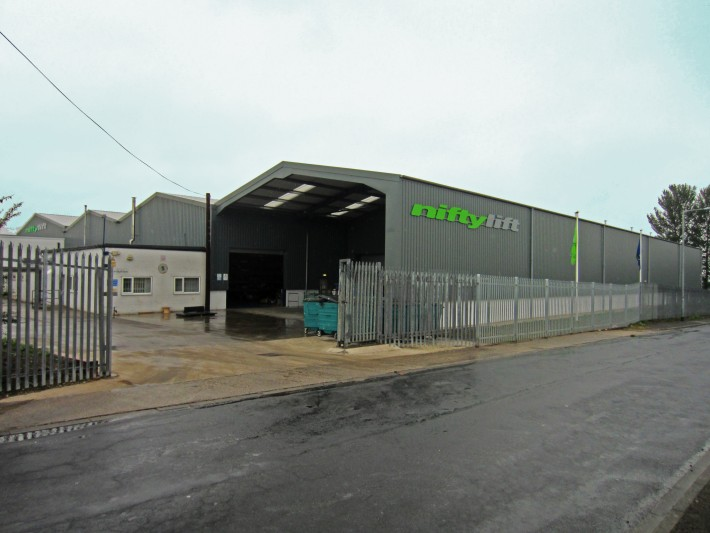 Niftylift establishes a steel fabrication facility in Hoyland, South Yorkshire