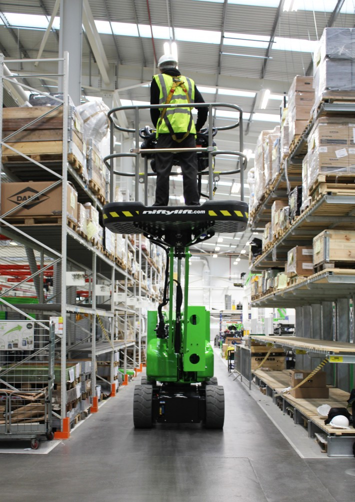 Efficient All-Electric Drive from Niftylift