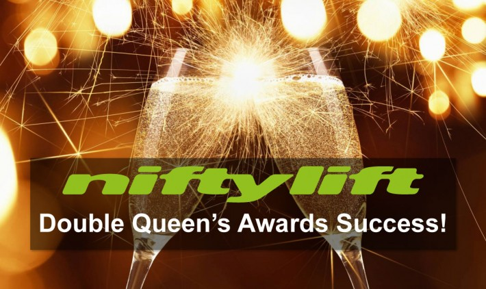 Double Queen's Awards Success for Niftylift