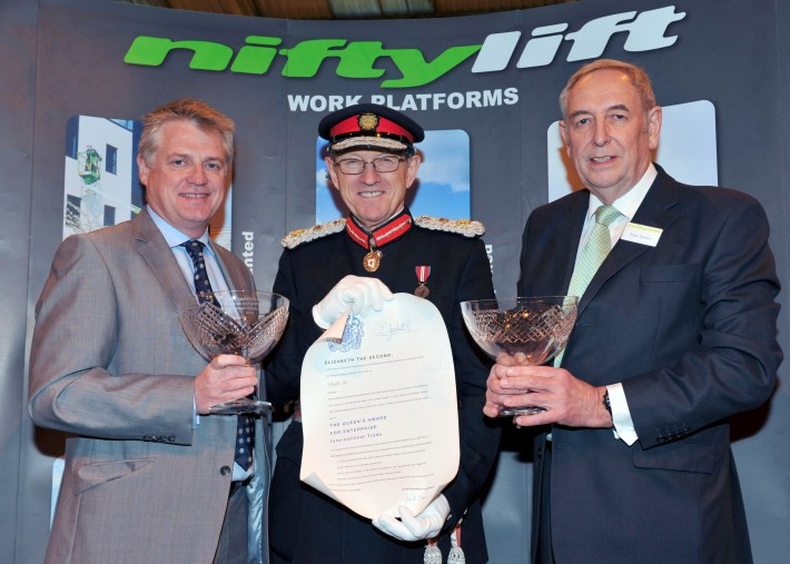 Niftylift is awarded two Queen's Awards for Enterprise