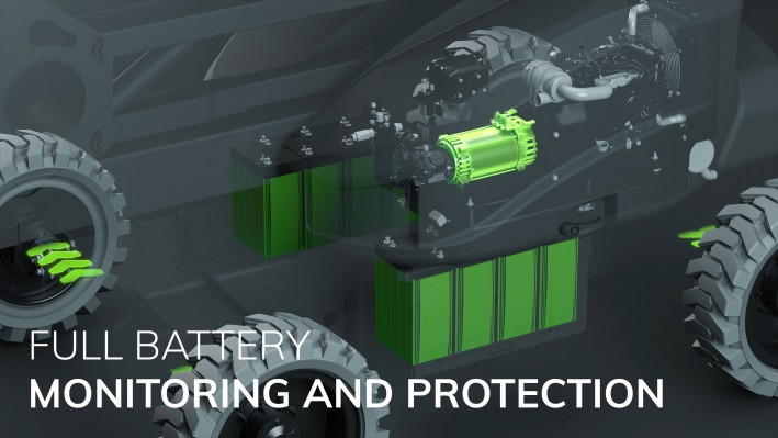 Niftylift Gen2 Hybrid - Battery Monitoring & Protection