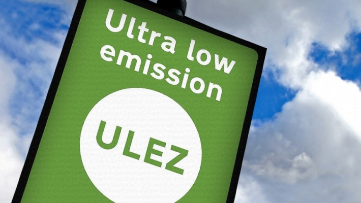 Ultra-Low Emission Zone Sign