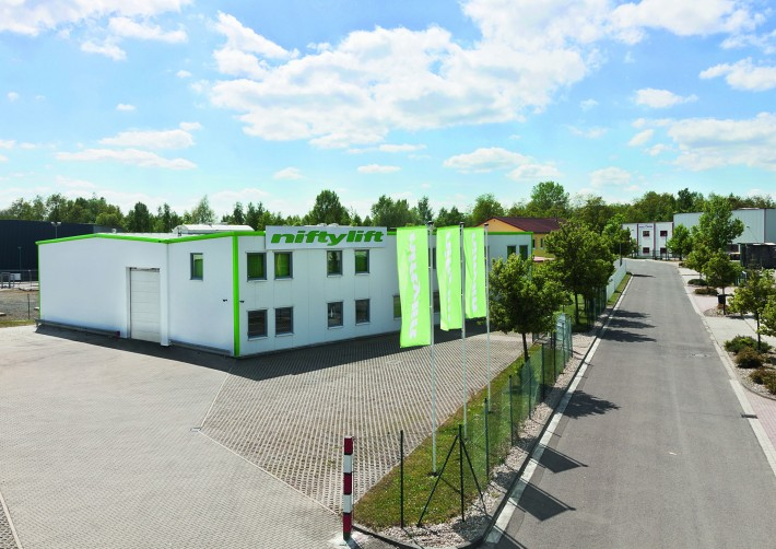 Niftylift opens a new sales and service site in Markranstädt, Germany