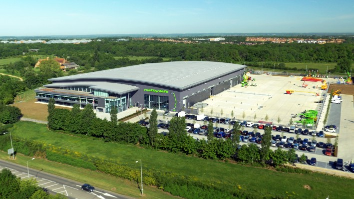 Niftylift celebrates its 30 year anniversary and the official opening of its new World Headquarters at Shenley Wood, Milton Keynes