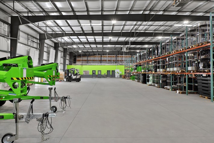 Niftylift Inc's New Premises in Greer, South Carolina USA